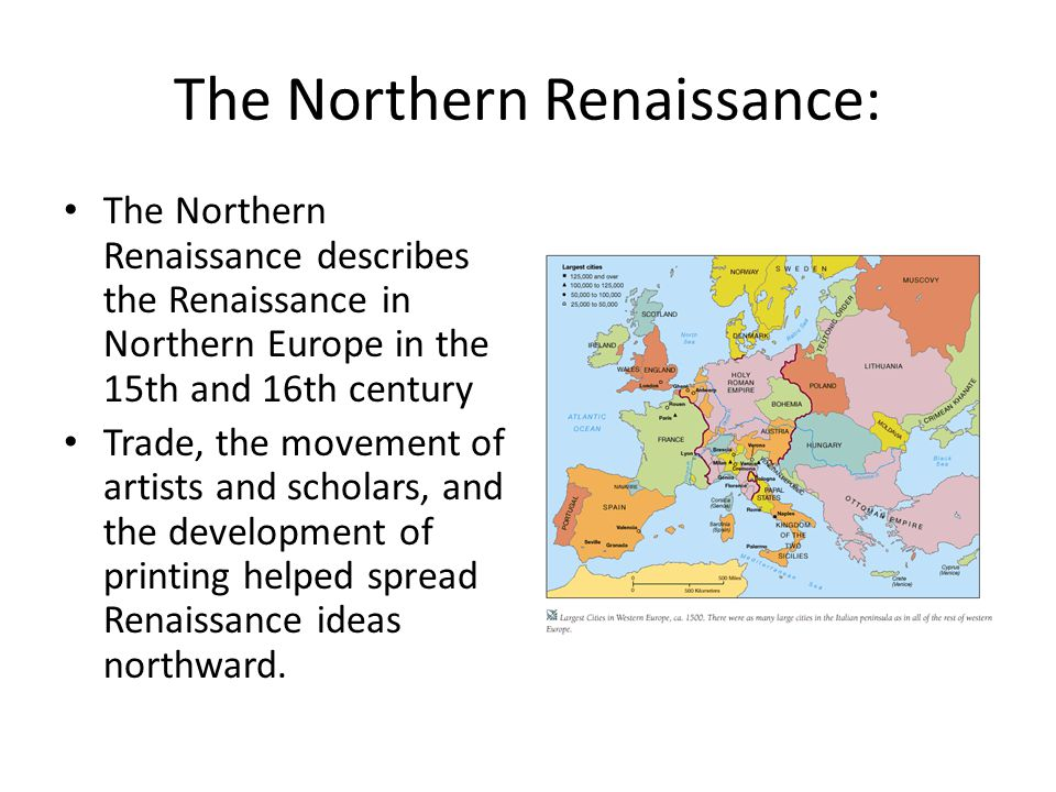 The Northern Renaissance: