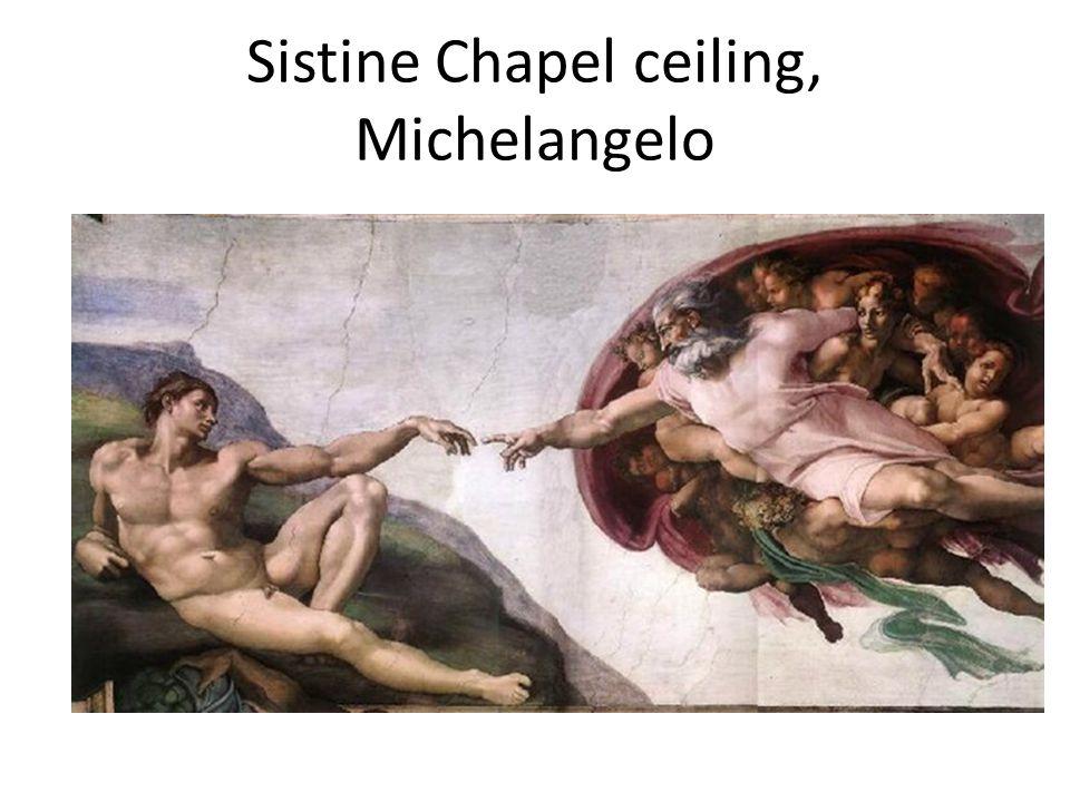 Sistine Chapel ceiling, Michelangelo