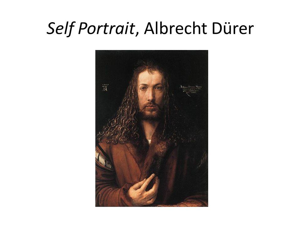 Self Portrait, Albrecht Dürer