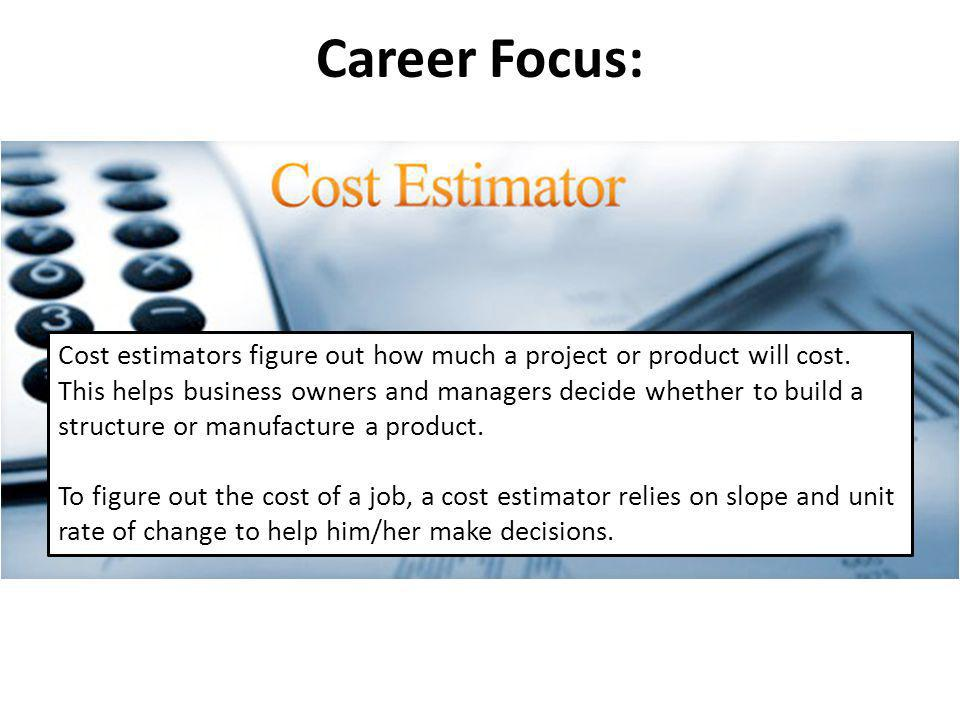 Career Focus: