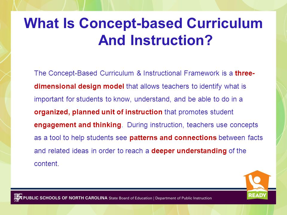 What Is Concept-based Curriculum And Instruction