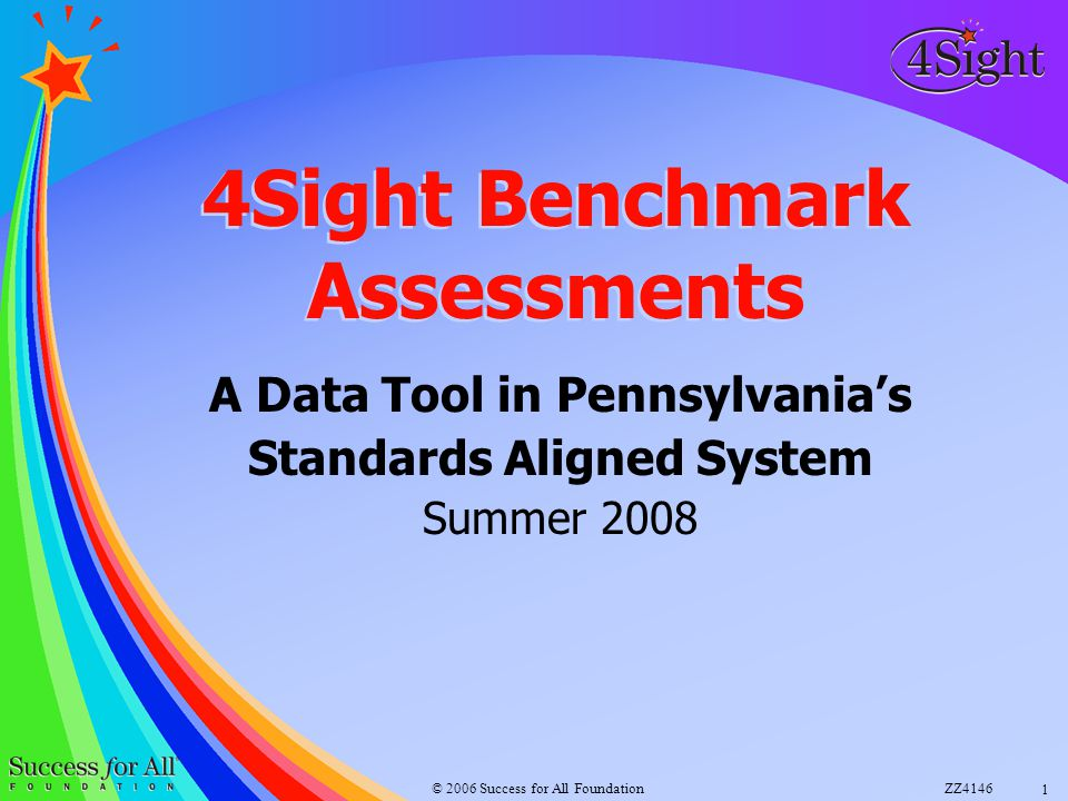 4Sight Benchmark Assessments