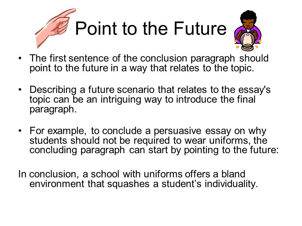 5 parggraph essay conclusion