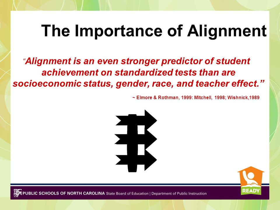 The Importance of Alignment