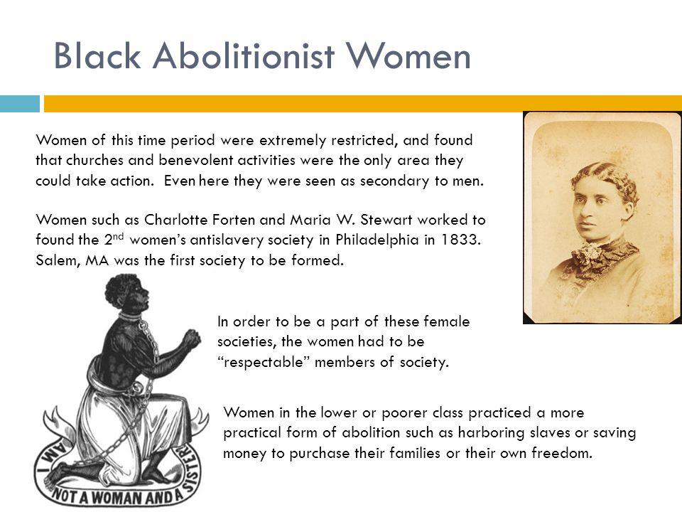 Black Abolitionist Women