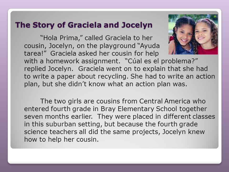 The Story of Graciela and Jocelyn