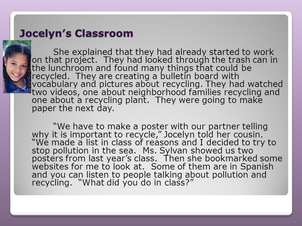 Jocelyn's Classroom