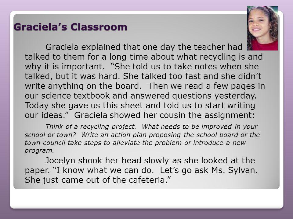 Graciela's Classroom