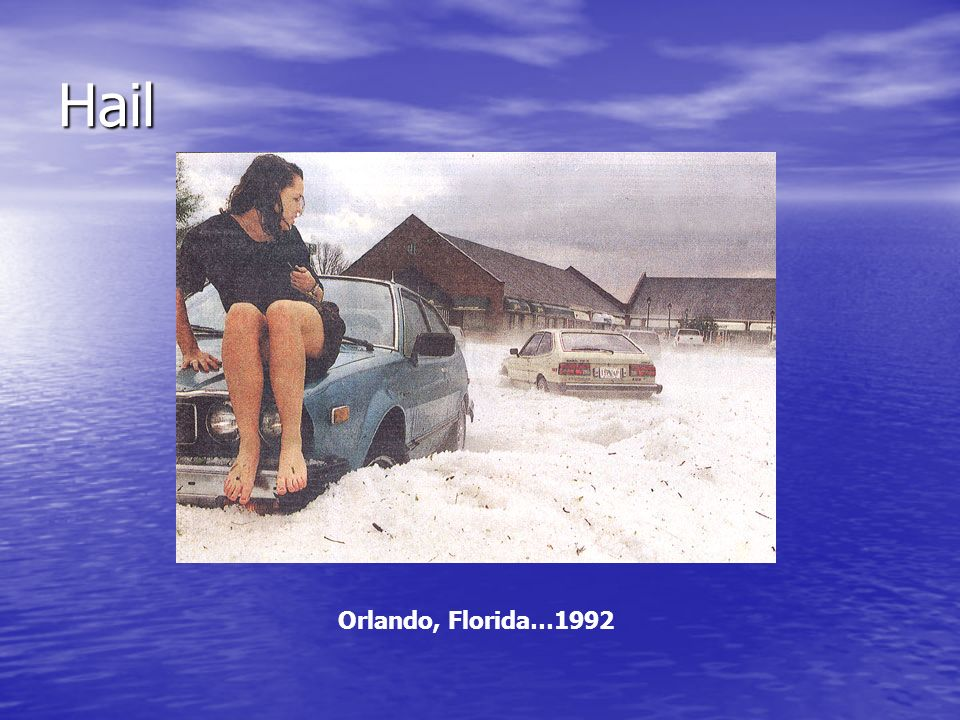 Hail Orlando, Florida…1992