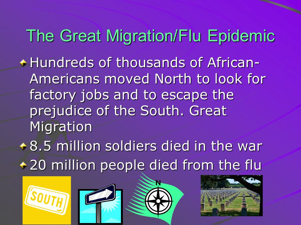 The Great Migration/Flu Epidemic