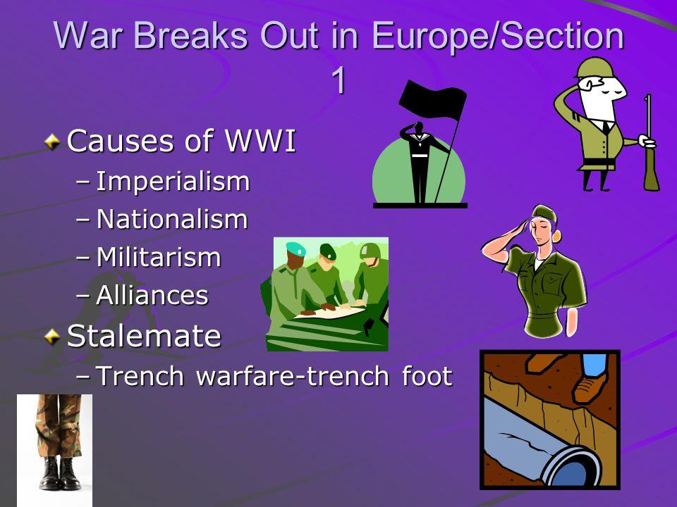 War Breaks Out in Europe/Section 1