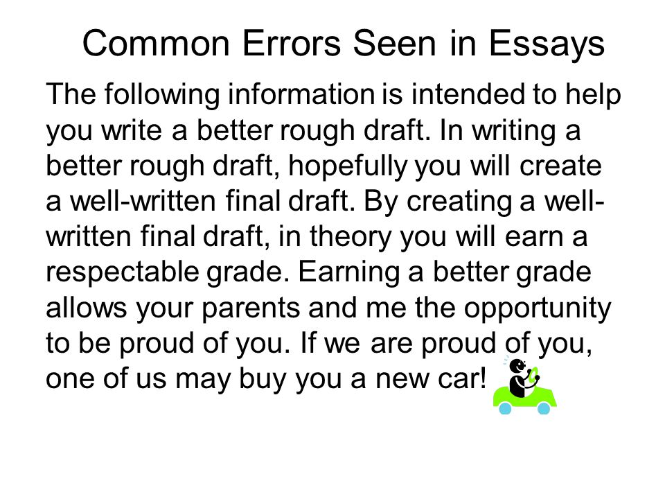 example of a well written essay