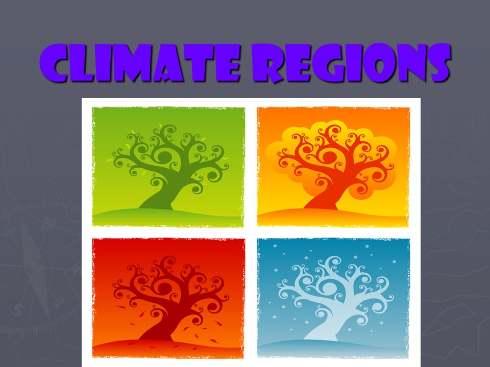 Climate Regions 1