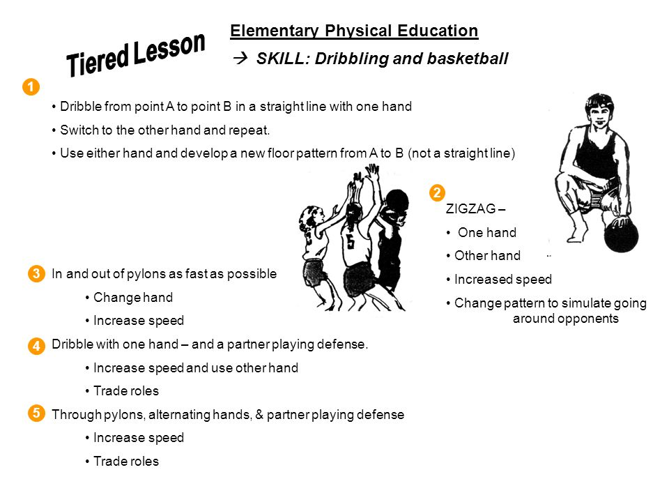 Tiered Lesson Elementary Physical Education