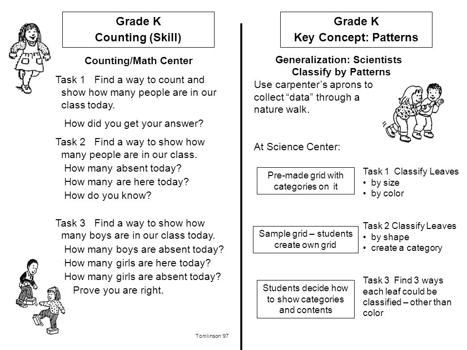 Generalization: Scientists Classify by Patterns