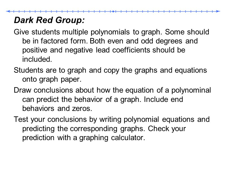 Dark Red Group:
