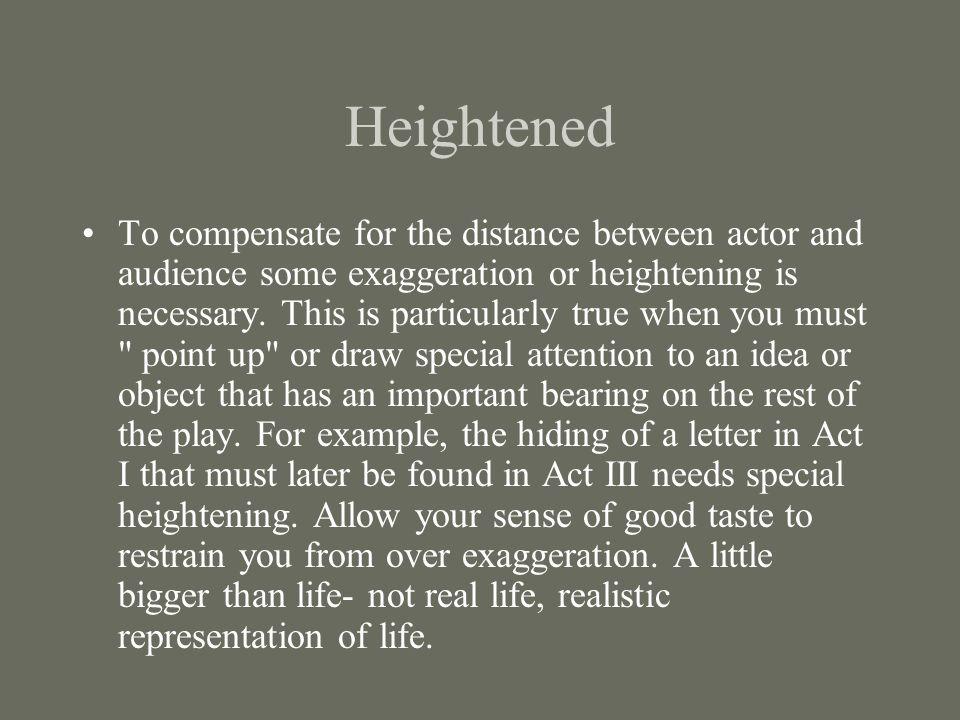 Heightened