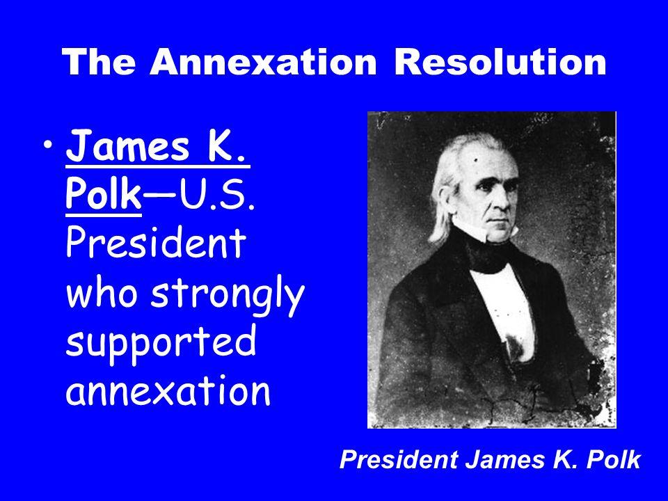 The Annexation Resolution