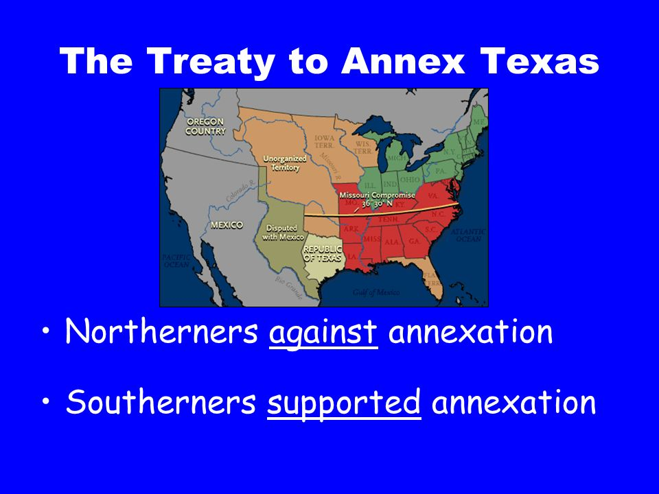 The Treaty to Annex Texas