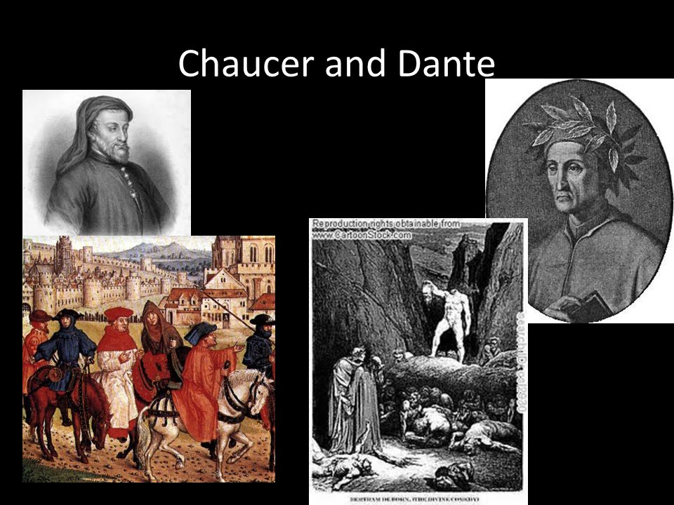 Chaucer and Dante