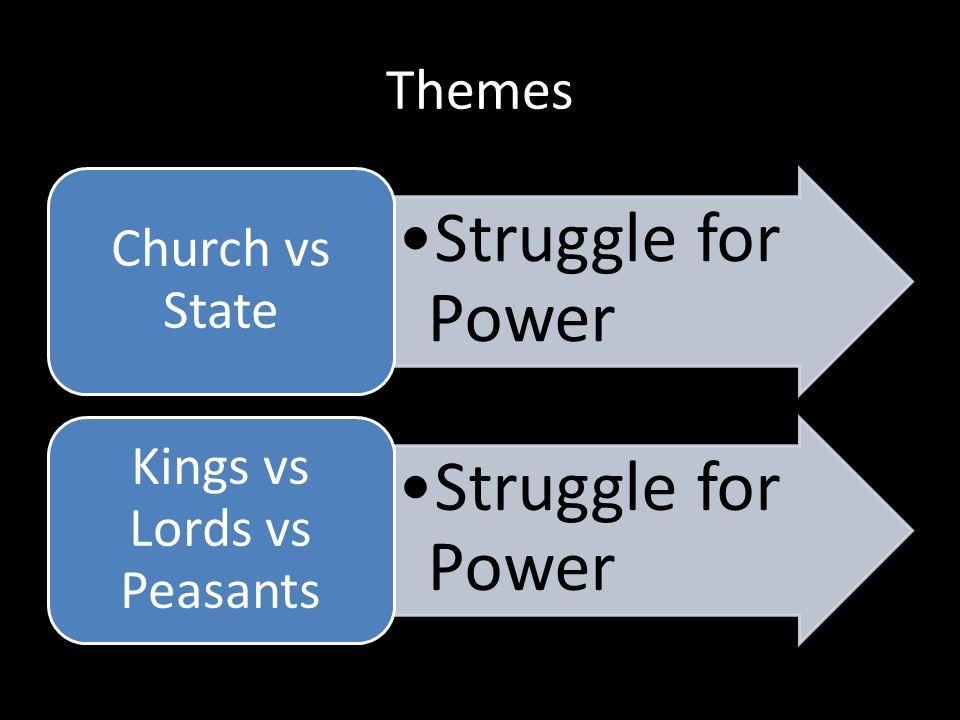 Kings vs Lords vs Peasants