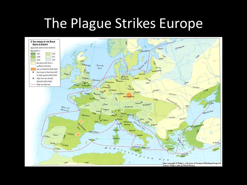 The Plague Strikes Europe