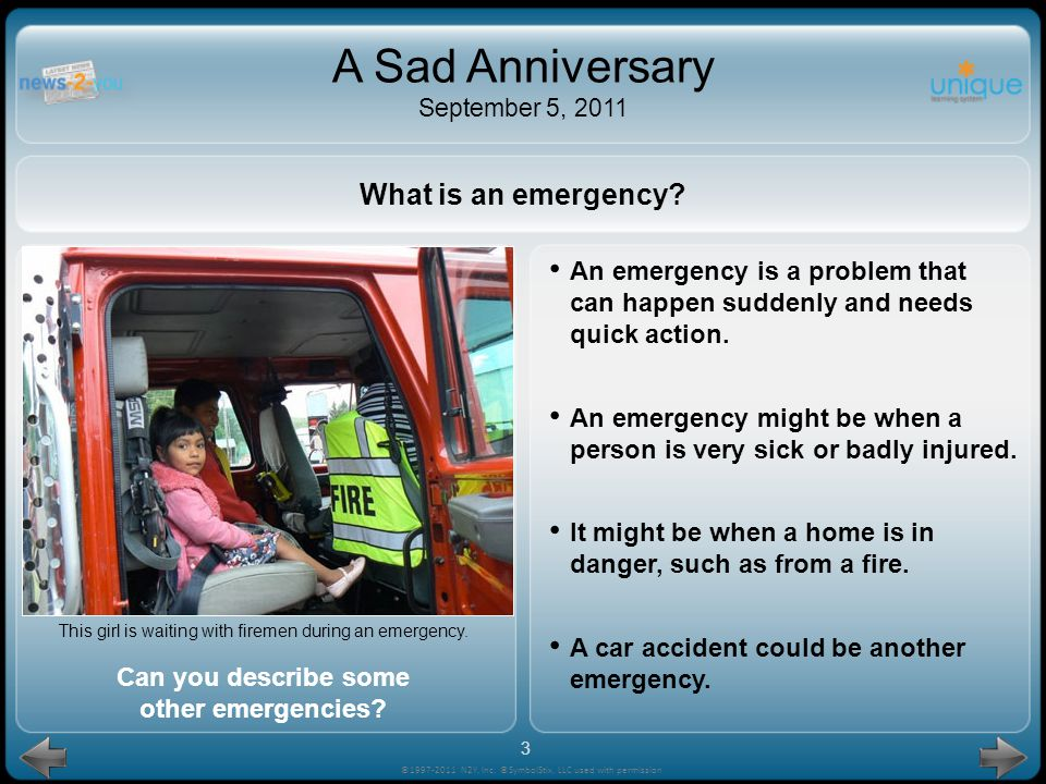 Can you describe some other emergencies