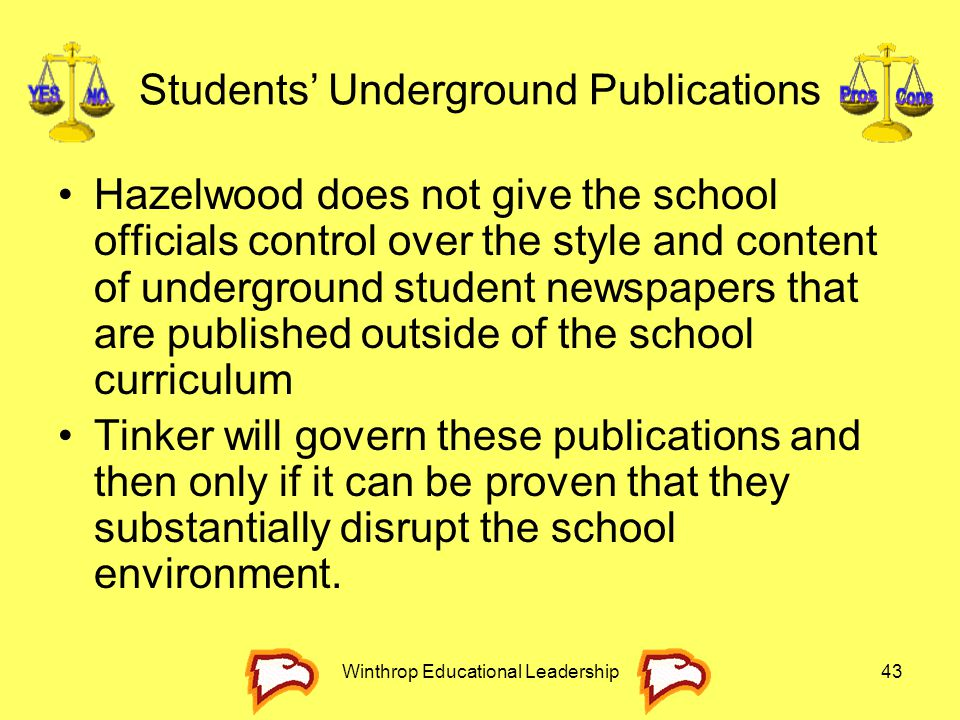 Students' Underground Publications