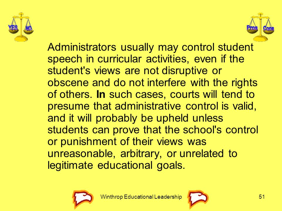 Winthrop Educational Leadership