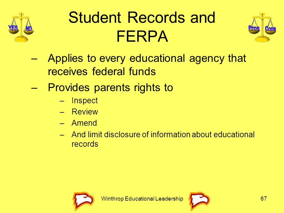 Student Records and FERPA