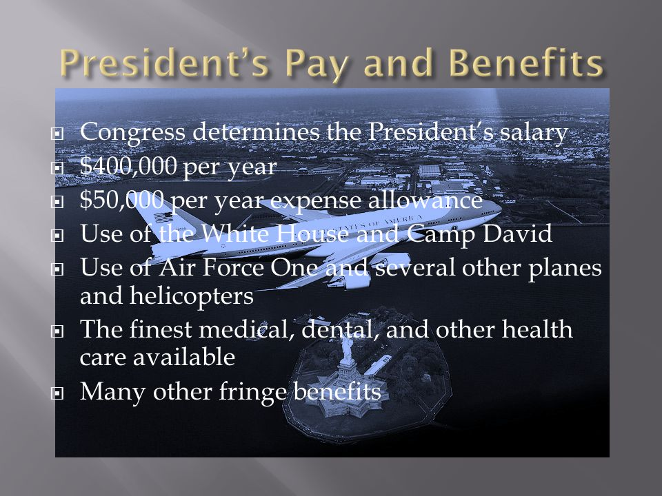 President's Pay and Benefits