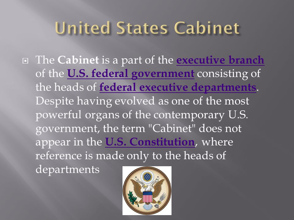 United States Cabinet