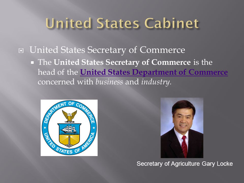 United States Cabinet United States Secretary of Commerce
