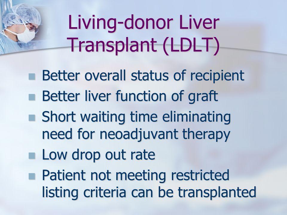 Living-donor Liver Transplant (LDLT)