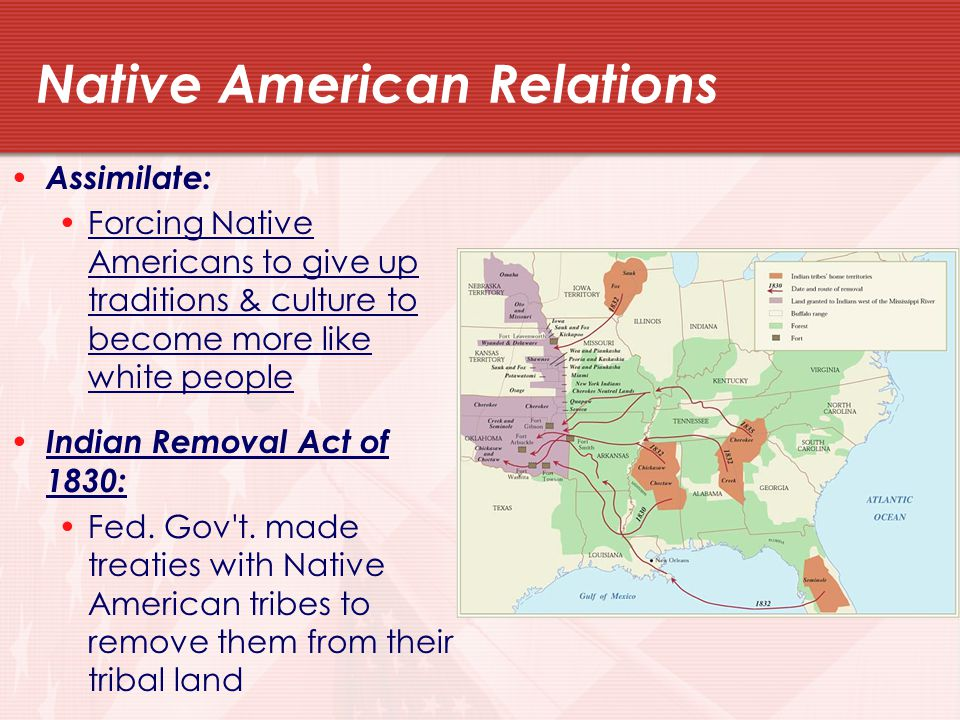 Native American Relations