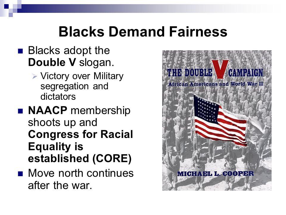 Blacks Demand Fairness