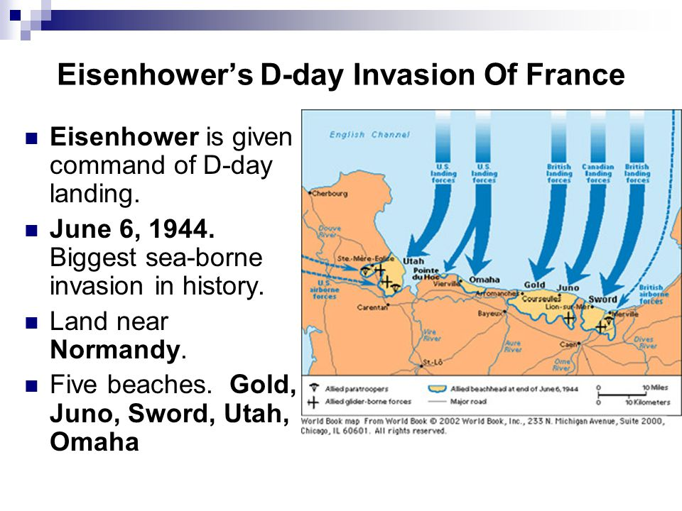 Eisenhower's D-day Invasion Of France