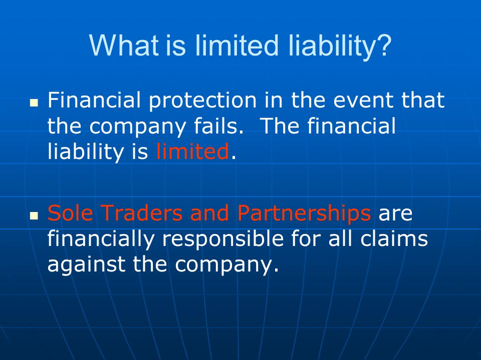 What is limited liability
