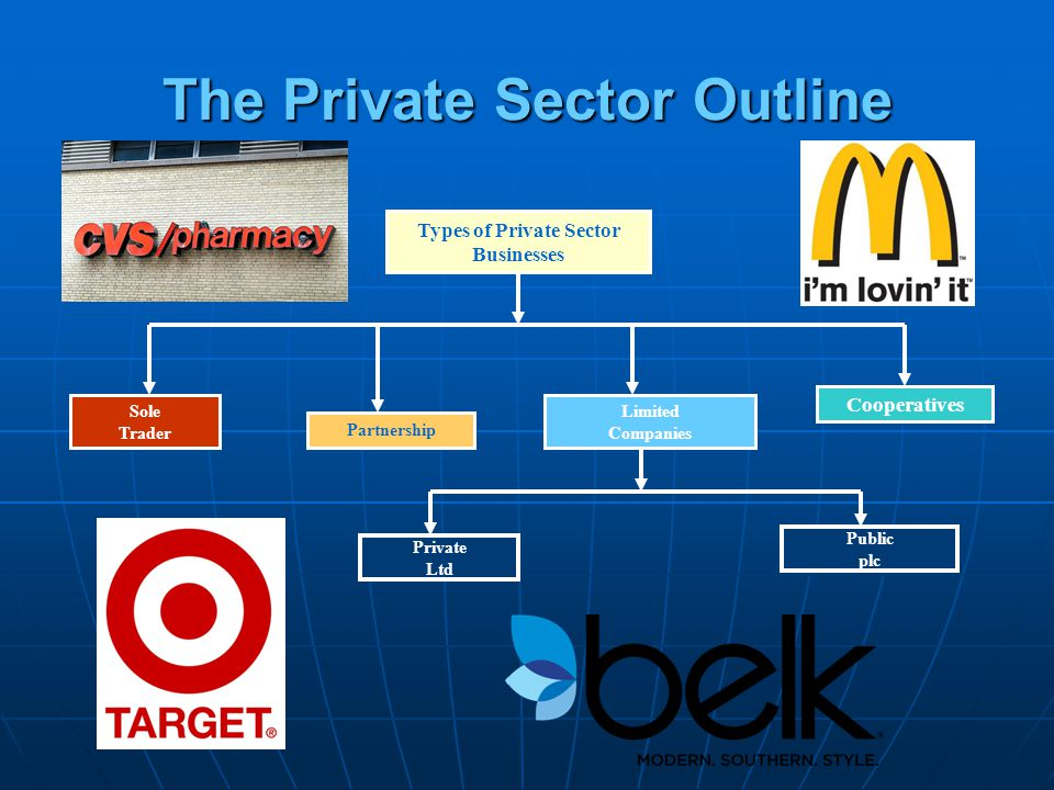 The Private Sector Outline