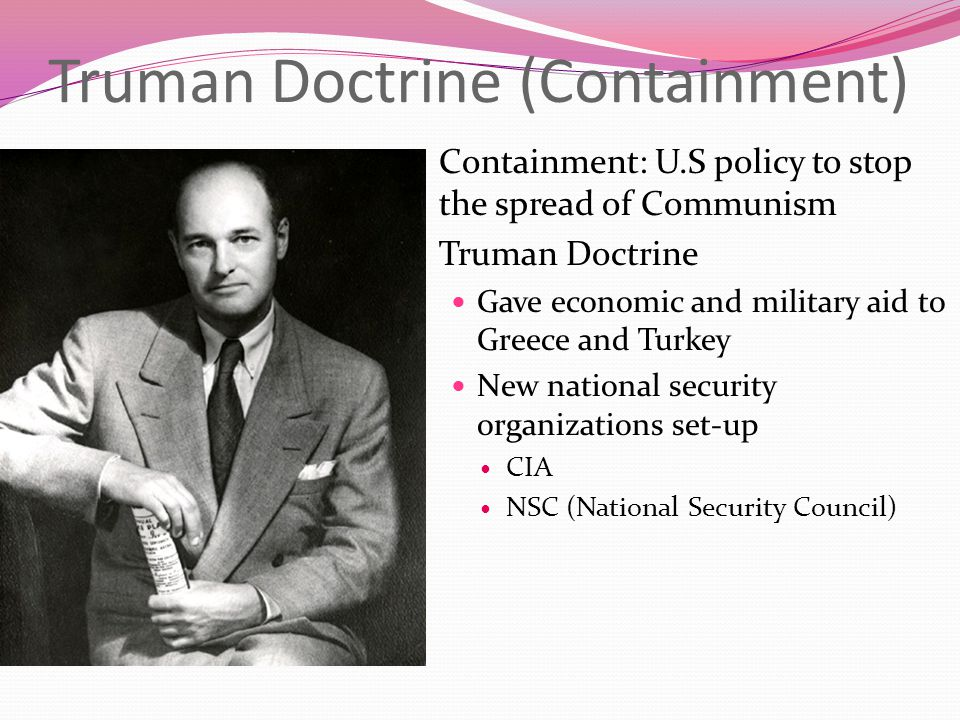 Truman Doctrine (Containment)