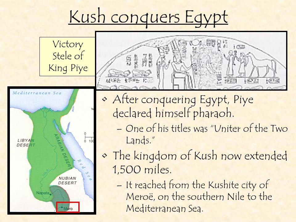 Victory Stele of King Piye