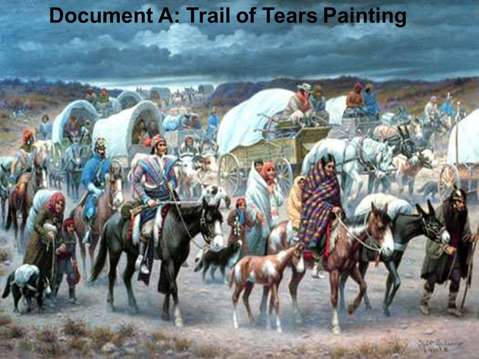 Document A: Trail of Tears Painting