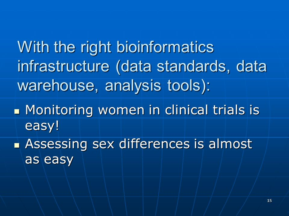 With the right bioinformatics infrastructure (data standards, data warehouse, analysis tools):