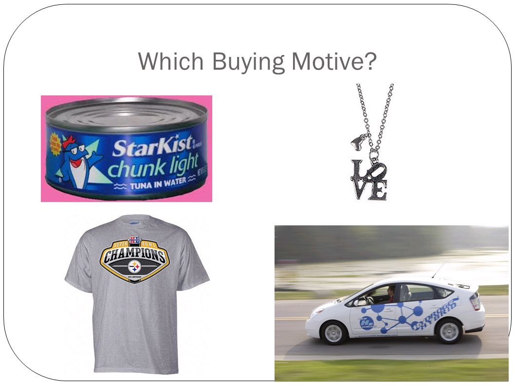 Which Buying Motive