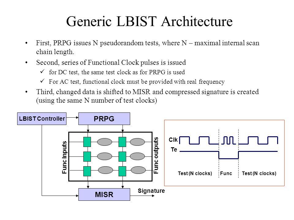 Generic LBIST Architecture
