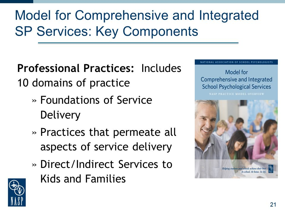 Model for Comprehensive and Integrated SP Services: Key Components