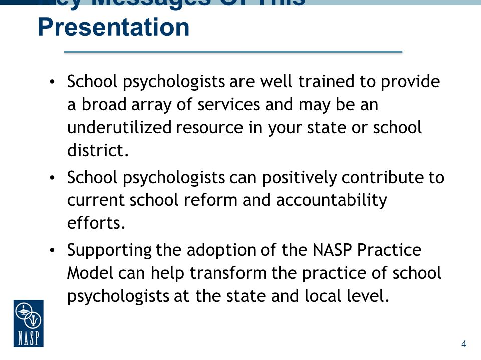 Key Messages Of This Presentation