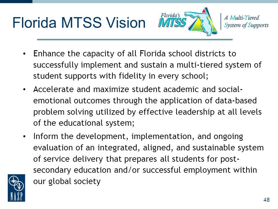 Florida MTSS Vision