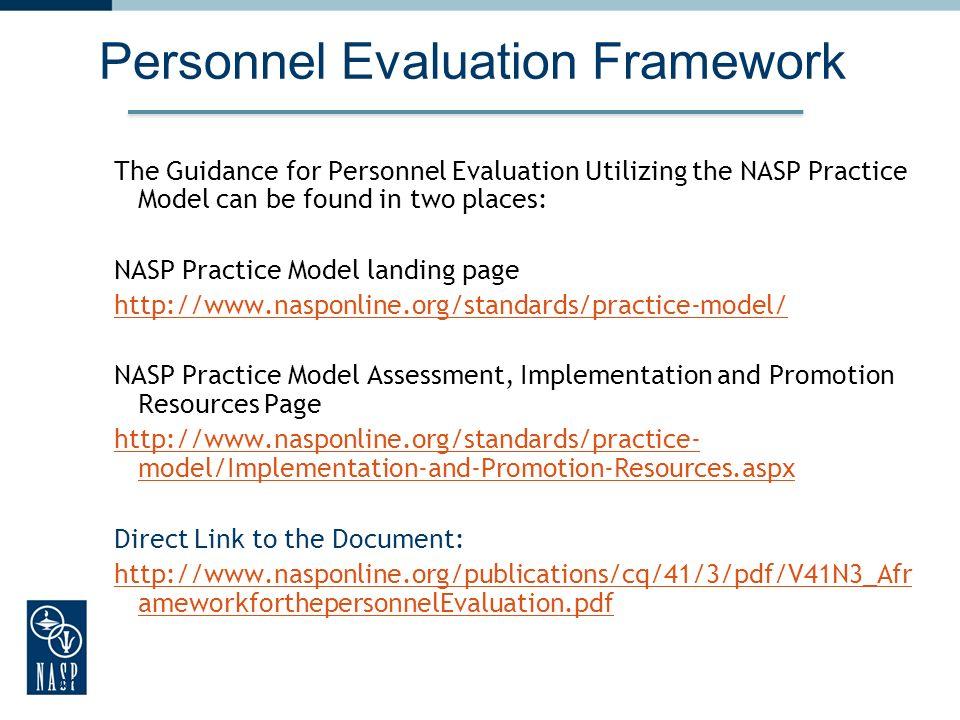Personnel Evaluation Framework