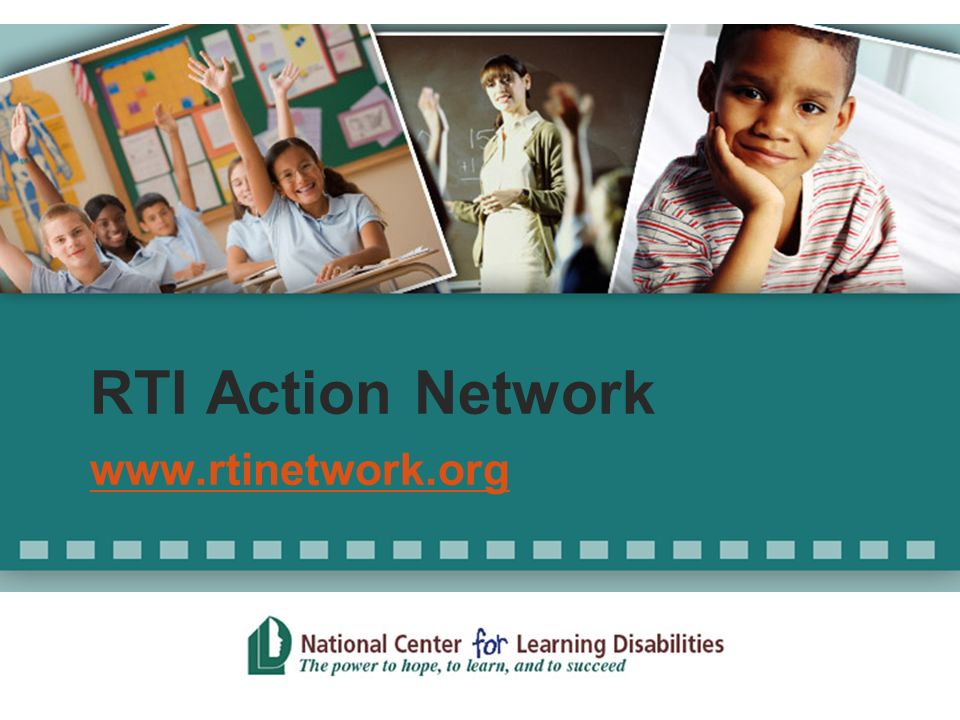 RTI Action Network www.rtinetwork.org